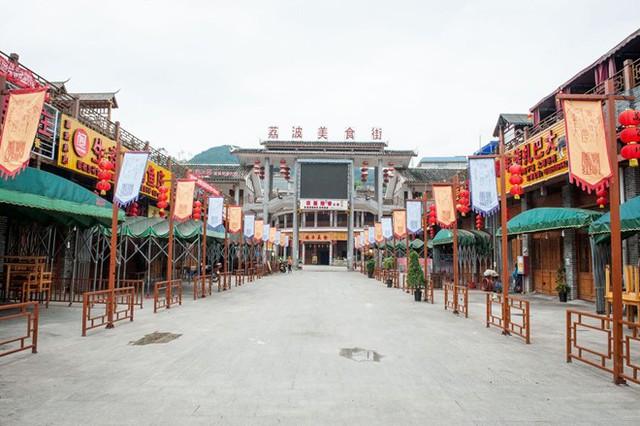 'Khung cảnh tại Binghuacun. Ảnh: Bloomberg.'