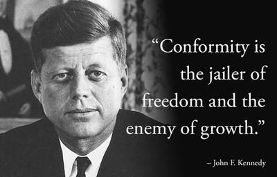 6. John F. Kennedy