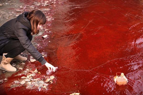 Hình ảnh đáng sợ về những nguồn nước 'chết' ở Trung Quốc