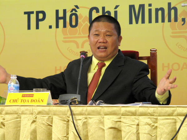 Ông chủ Tôn Hoa Sen - Phật tử Lê Phước Vũ: 'Tôi bình thản trước mọi danh vọng'
