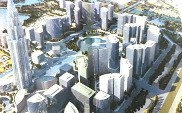 """Tiết lộ về """"đại gia"""" Dubai rót tiền xây """"Phố Wall Hà Nội"""""""