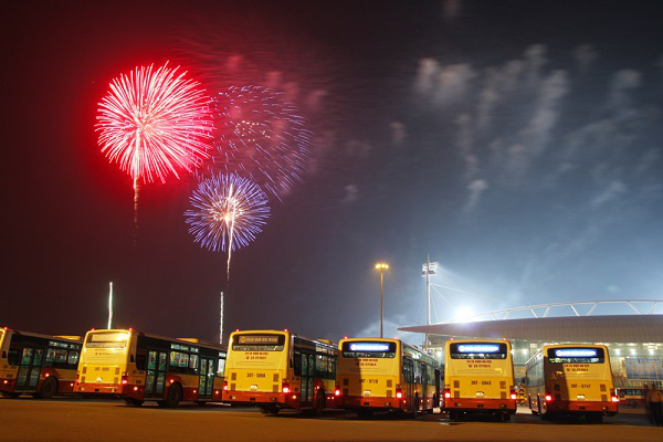 Từ 2014, giá vé xe buýt tăng lên 200.000 đồng/tháng