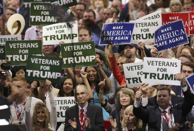 Hỗn loạn đại hội Đảng Cộng hòa vì Donald Trump