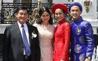 Gia đình nhà chồng quyền lực của Tăng Thanh Hà