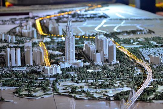 Quy hoạch siêu tổ hợp trung tâm tài chính thương mại với điểm nhấn là tòa tháp cao 108 tầng