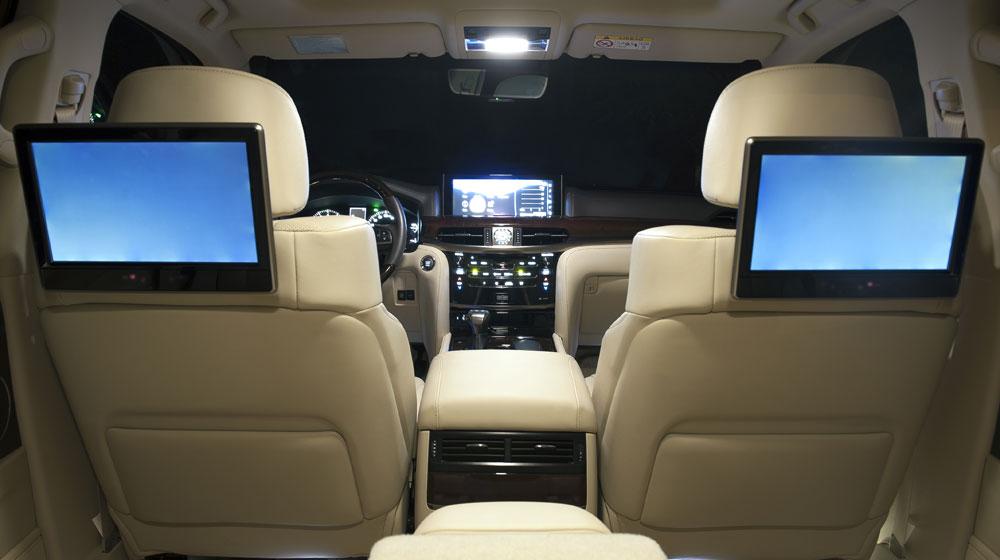 Nội thất của Lexus LX 570