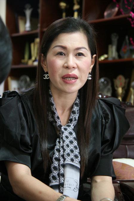 Doanh nhân Hà Thúy Linh.