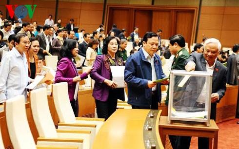 Luật Tổ chức Quốc hội (sửa đổi) quy định ít nhất 35% đại biểu hoạt động chuyên trách