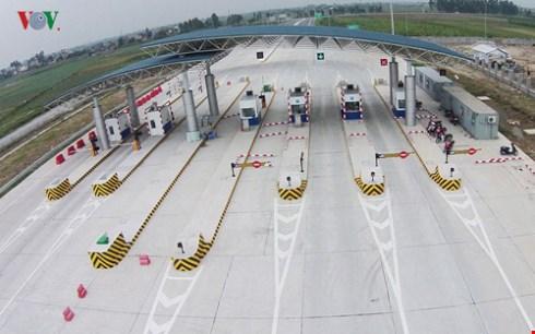 Đường cao tốc Hà Nội - Hải Phòng được trang bị hệ thống các trạm cân điện tử thông minh, lắp tại những trạm thu phí.
