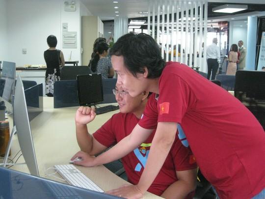 Kỹ sư phần mềm sẽ được săn đón trong thời gian tới. (Ảnh chụp tại Công ty Atlassian) Ảnh: HUỲNH NGA