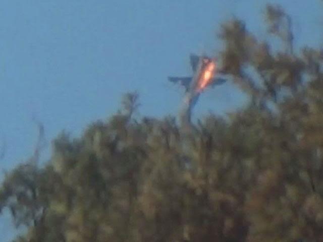 Máy bay Su-24 của Nga bị bắn hạ hôm 24/11.