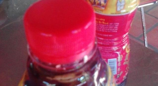Cà Mau: Có đến 79 chai Dr Thanh bị lợn cợn bất thường.
