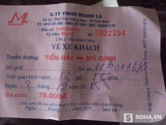 Hành khách mua vé của Mạnh La nhưng lại lên xe Phiệt Học để đi, vì hai doanh nghiệp này đã bán lốt cho nhau