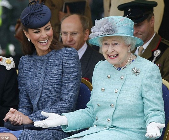 Not so wealthy: The Queens estimated fortune of £295m pales beside that of other European royals