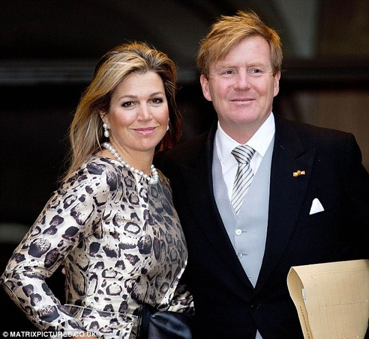 Not cheap: The Netherlands Orange-Nassau dynasty costs Dutch taxpayers an estimated £31m to run
