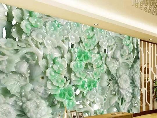 网络流传徐才厚豪宅中的价值连城的玉器。