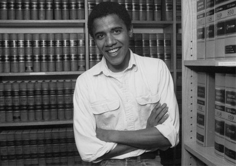 Obama hồi học ở Đại học Luật Harvard (Ảnh: Reuters)