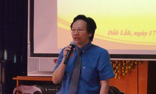 Ông Doãn Hữu Long - Giám đốc Sở Y tế Đắk Lắk