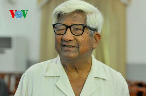 Ông Phạm Thế Duyệt, nguyên Chủ tịch Ủy ban Trung ương Mặt trận Tổ quốc Việt Nam