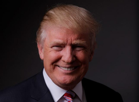 Tỉ phú Donald Trump trả lời phỏng vấn Reuters hôm 17-5. Ảnh: Reuters