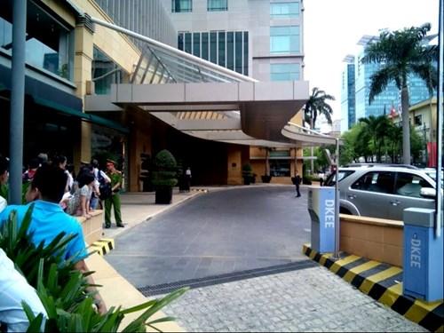 Khách sạn Kumho Asiana Plaza, nơi đoàn Tổng thống Mỹ lưu trú. Ảnh: Ngô Tùng