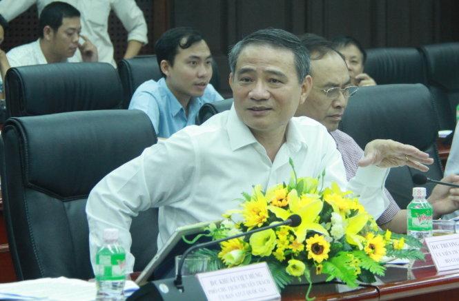 Ông Trương Quang Nghĩa, Bộ trưởng Bộ GTVT - Ảnh: Hữu Khá