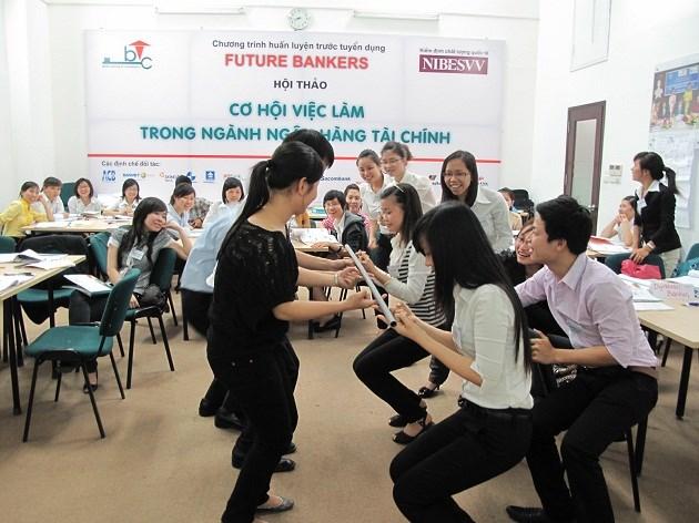 Chương trình Huấn luyện trước tuyển dụng -Future Bankers do BTCI tổ chức