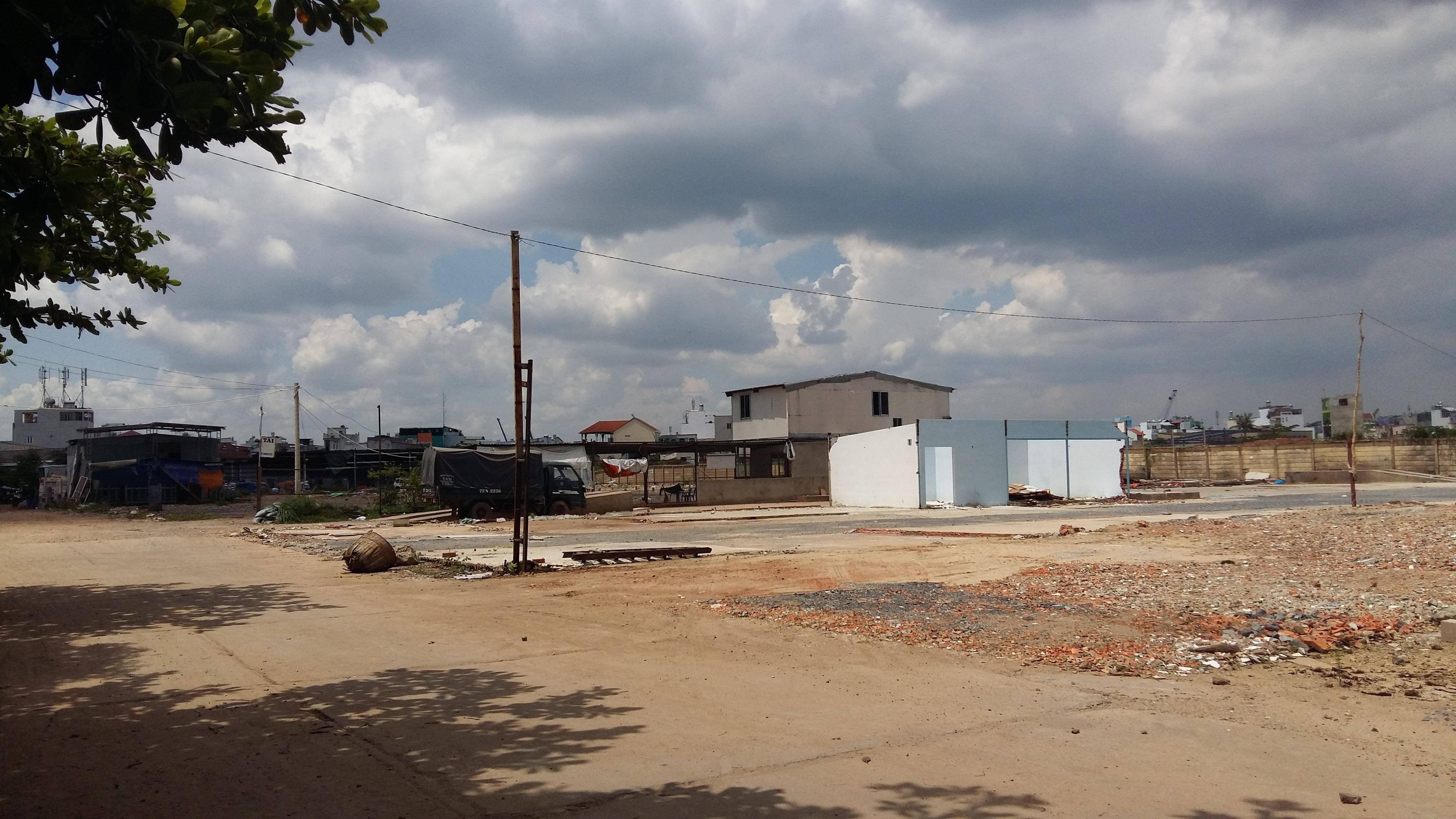 Hiện trạng khu đất rộng lớn đang được TT Group chuẩn bị triển khai dự án