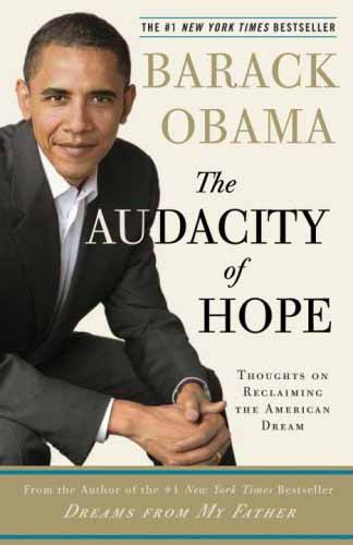 Bìa cuốn The Audacity of Hope