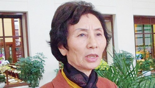 Bà Bùi Thị An.