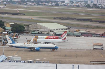 Máy bay dành cho Ngoại trưởng Mỹ được kiểm tra