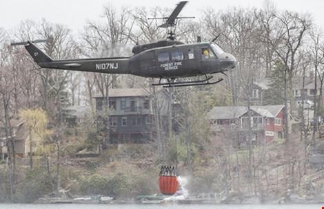 Các loại trực thăng chữa cháy đang được sử dụng trên thế giới. Ảnh: INTERNET