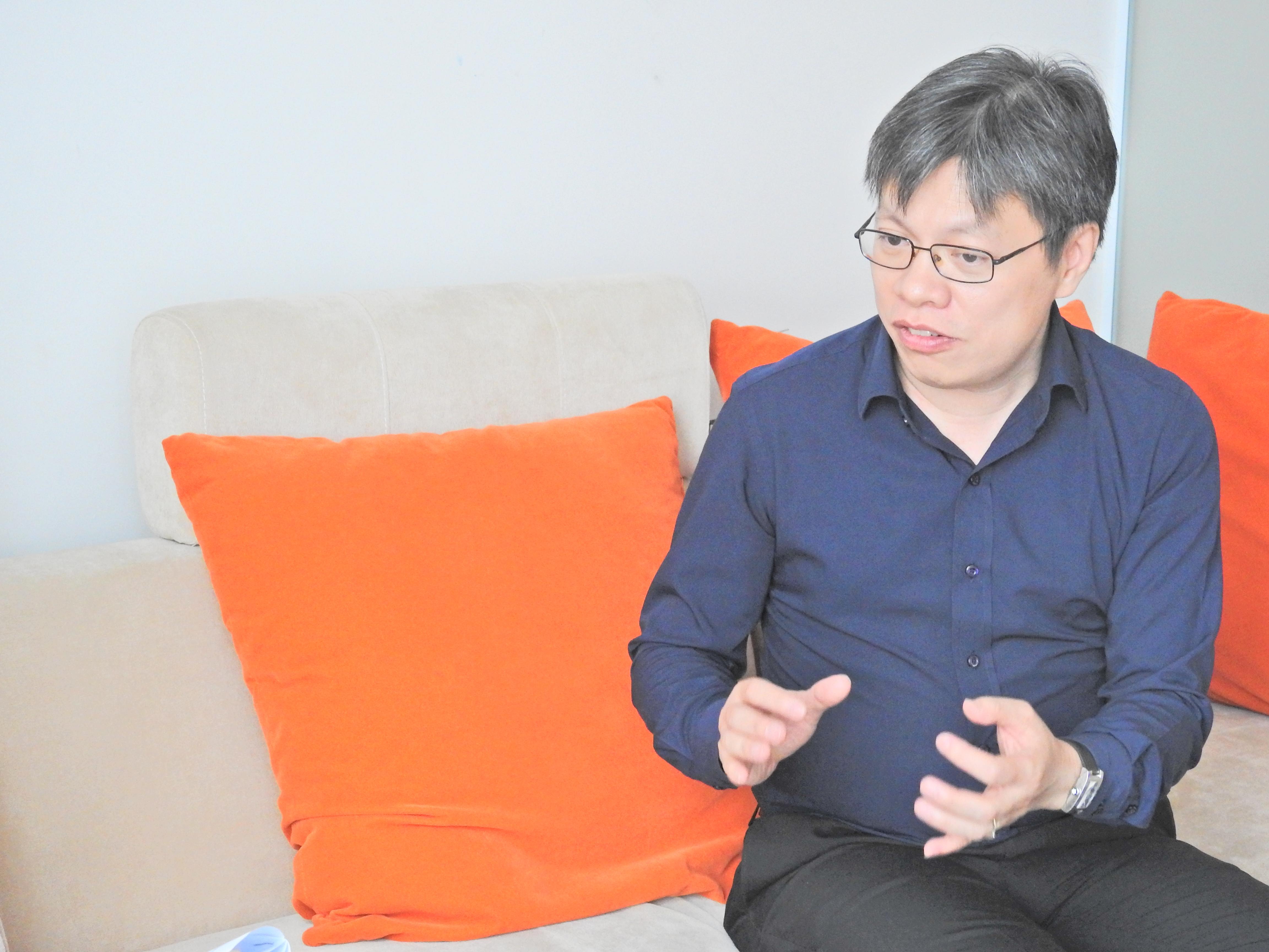 Ông Lê Quốc Vinh - Chủ tịch Le Group. Ảnh: Trần Thành