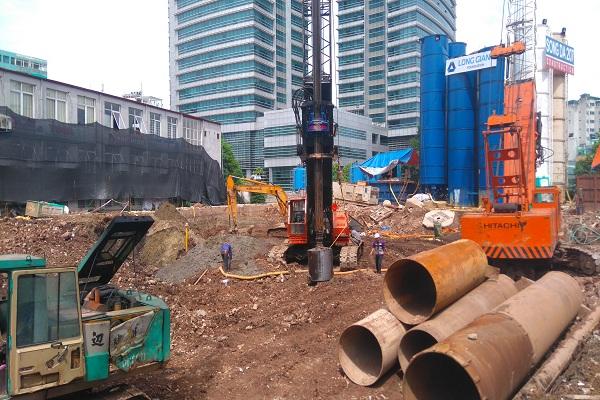 Công trình mới bắt đầu triển khai xây dựng