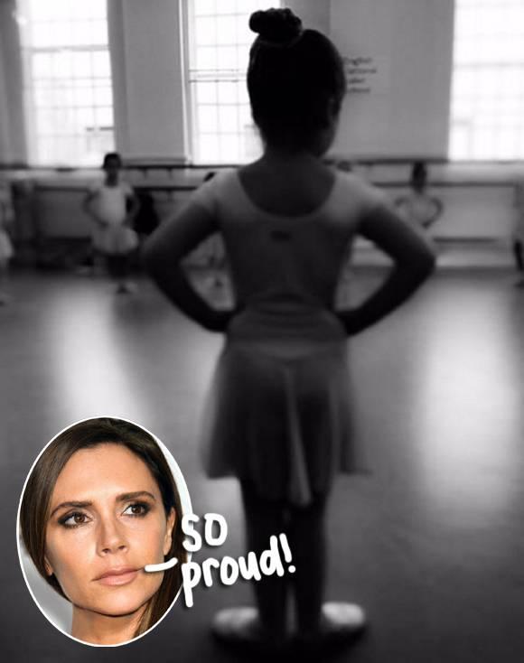 Beckham học múa ba-lê từ rất nhỏ. Năm 17 tuổi, cô theo học múa ba năm tại Cao đẳng Nghệ thuật Sân khấu Laine tại Epsom.