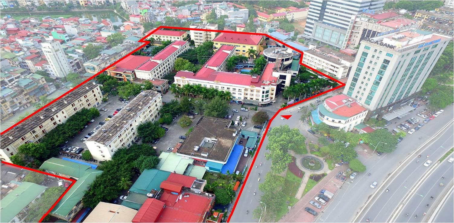 Khu đất vàng khách sạn Kim Liên trên đường Đào Duy Anh, HN