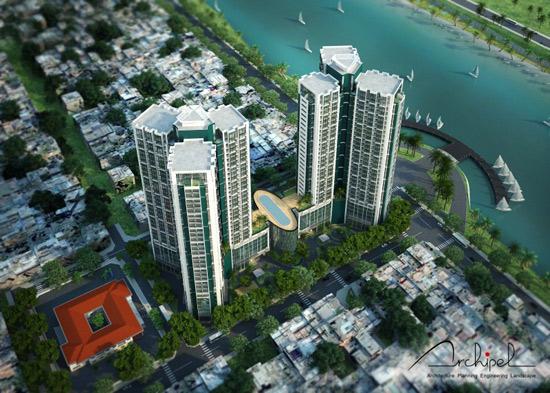 Dự kiến, dự án có tên The Lancaster Residence được xây dựng trên diện tích 23.987m2 với 6 block, cao 35 tầng và 3 tầng hầm.