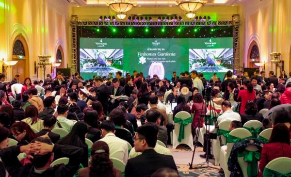 Sự kiện mở bán dự án bất động sản phía Tây thu hút hàng nghìn khách hàng
