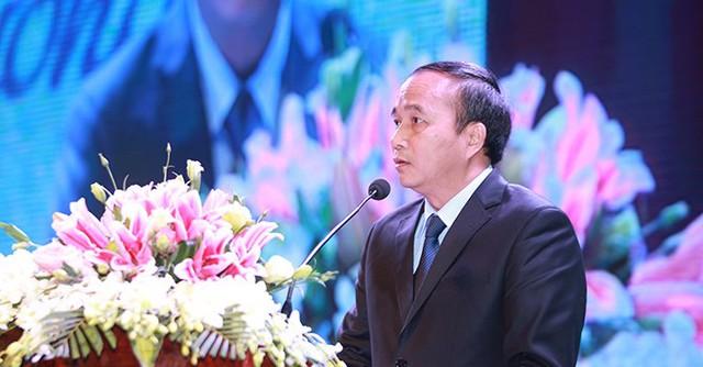 Ông Nguyễn Văn Trì - Chủ tịch UBND tỉnh Vĩnh Phúc - phát biểu khai mạc chương trình.