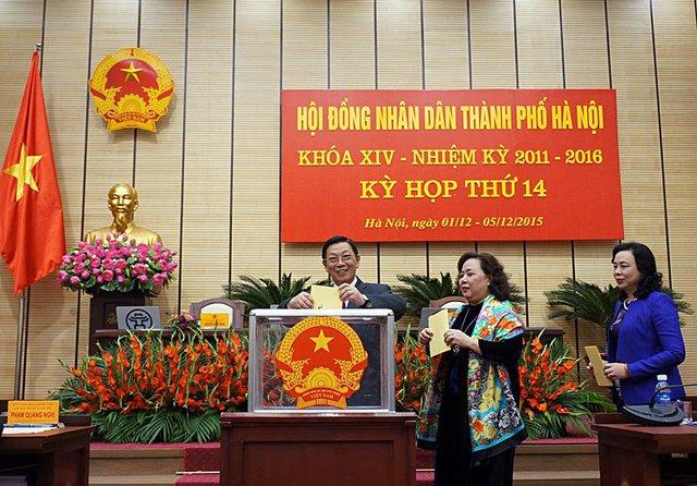 Với trách nhiệm công dân Thủ đô, ông Nguyễn Thế Thảo nguyện tiếp tục đóng góp