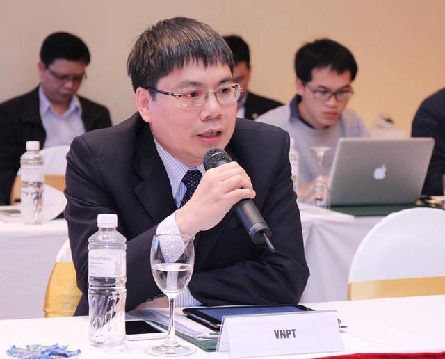 Ông Tô Mạnh Cường, Phó Tổng Giám đốc VNPT. Ảnh: Việt Hải.