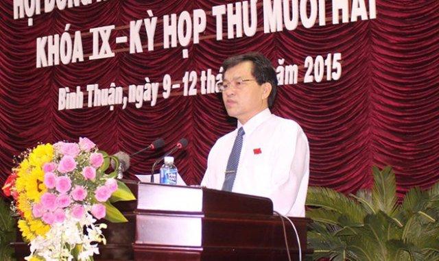 Ông Nguyễn Ngọc Hai, chủ tịch UBND tỉnh Bình Thuận nhiệm kỳ 2011-2016 - Ảnh: Th.Trí