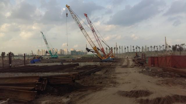 """Nếu những dự án hạ tầng cơ sở được đẩy mạnh triển khai thực hiện, trong tương lai không xa, khu đô thị mới Thủ Thiêm sẽ phát triển """"cực thịnh"""" giống như phố Đông của Trung Quốc mà nhiều nhà quy hoạch đều kỳ vọng."""