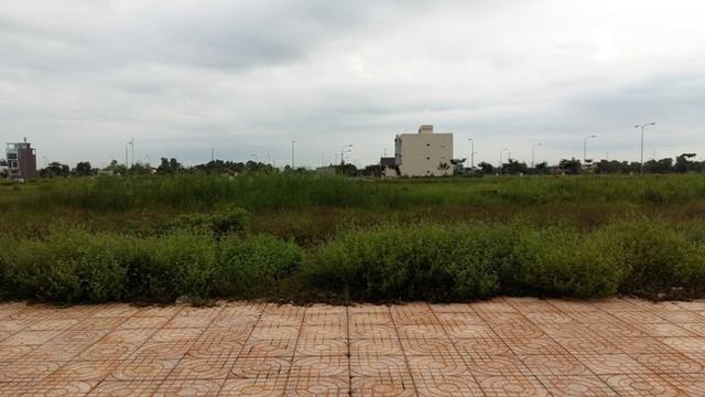 Mặc dù hạ tầng cơ bản được đầu tư khá hoàn thiện, nhưng không thể nào bán được nền đất.
