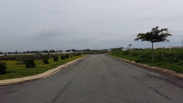 Hà tầng đường nội bộ của tổ hợp Green City do Công ty CP Đồng Tâm đầu tư khá tốt, nhưng vẫn chỉ là cỏ xanh.