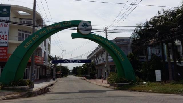 Khu đô thị Thanh Yên Residence vẩn còn thưa thớt dân cư sinh sống. Dự án nằm song song với trục đường chính của khu công nghiệp Nhựt Chánh - Bến Lức.