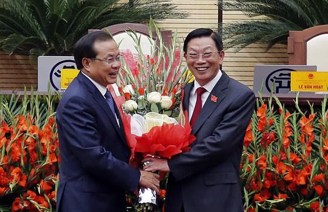Nguyễn Đức Chung, Nguyễn Thế Thảo, Chủ tịch TP Hà Nội