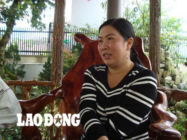 Chị Hà Ngọc Hương - em ruột của nữ doanh nhân Hà Thúy Linh.