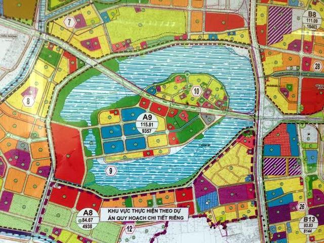 Quy hoạch giao thông quanh Linh Đàm vẫn ở trên giấy