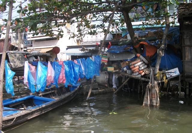 Một đoạn kênh Tham Lương, đoạn chảy qua cầu Trường Đai, Gò Vấp